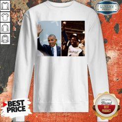 Official Barack Obama Lauded Hank Aaron Sweatshirt