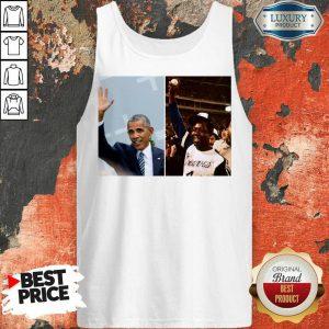 Official Barack Obama Lauded Hank Aaron Tank Top