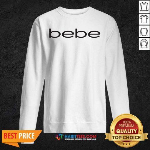 Original Bebe Bebes Bebe Logo 55 Sweatshirt