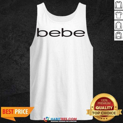 Original Bebe Bebes Bebe Logo 55 Tank Top