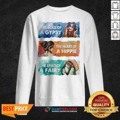 Original The Soul Gypsy Heart Hippie Fairy 2 Sweatshirt