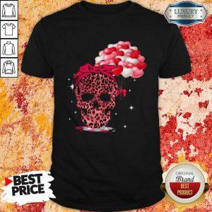 Perfect Skull Valentine Balloon Shirt