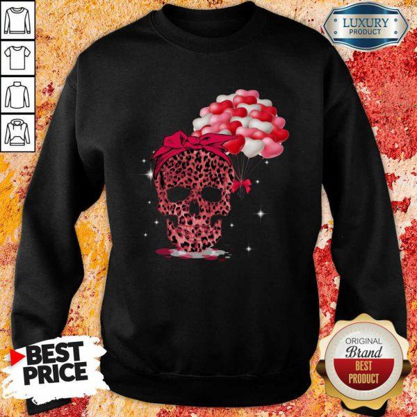 Perfect Skull Valentine Balloon Sweatshirt