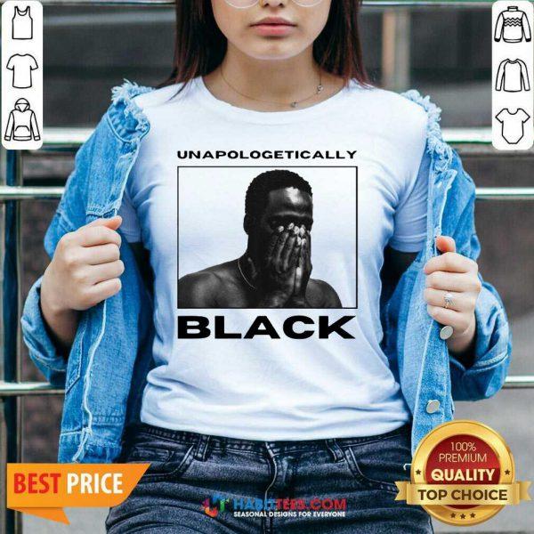 Premium Unapologetically Black Vip 1 V-neck