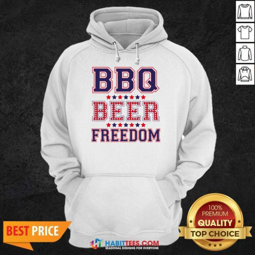 Pretty BBQ Beer Freedom 246 Hoodie