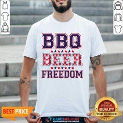 Pretty BBQ Beer Freedom 246 Shirt