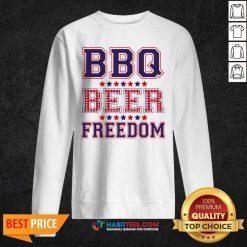 Pretty BBQ Beer Freedom 246 Sweatshirt