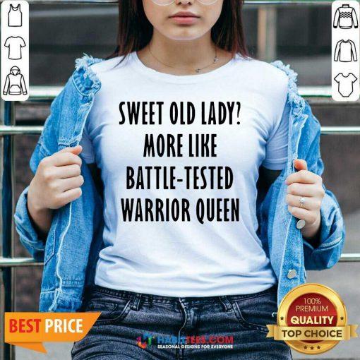 Pretty Sweet Like Battle Warrior Queen 55 V-neck
