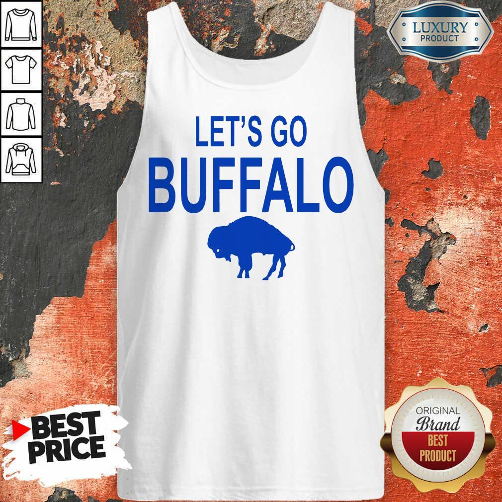 Top 2020 Lets Go Buffalo Bills Tank Top