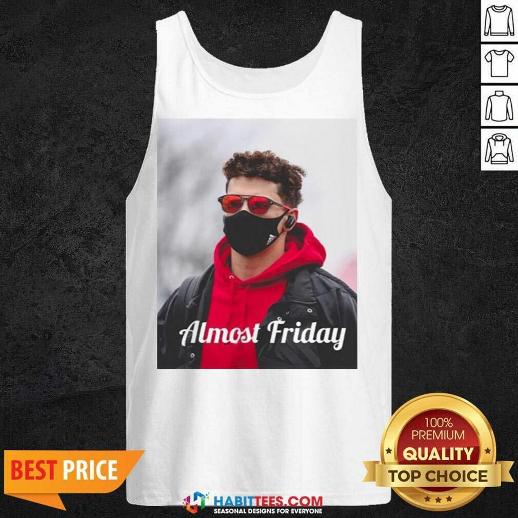 Top Almost Friday Pregame Patrick 6 Tank Top