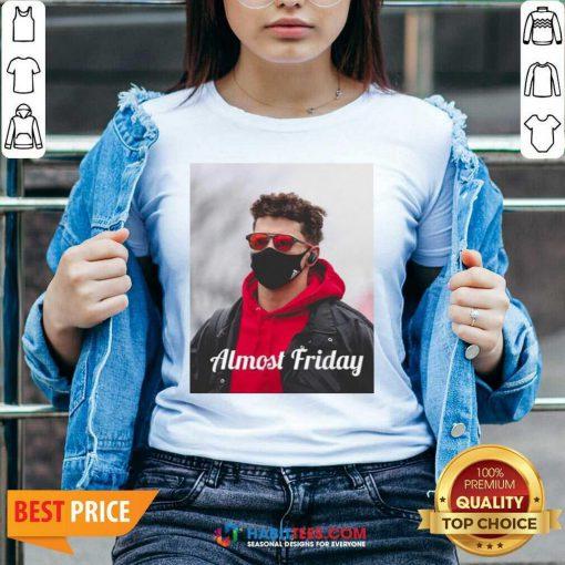 Top Almost Friday Pregame Patrick 6 V-neck