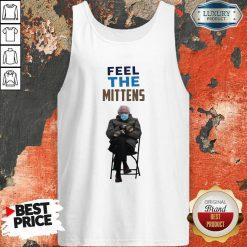 Top Feel The Mittens Bernie Sanders Tank Top