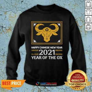 Top Happy Chinese New Year 2021 Year Of The Ox Sweatshirt - Design by Habittees.com