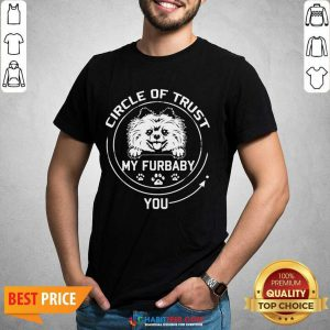 Awesome My Furbaby Circle Dog Lovers 1 Shirt