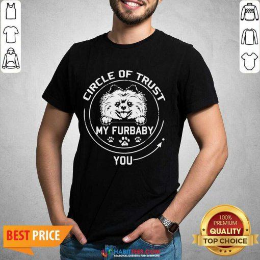 Awesome My Furbaby Circle Dog Lovers 1 Shirt