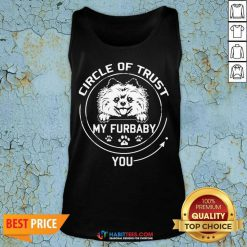 Awesome My Furbaby Circle Dog Lovers 1 Tank Top