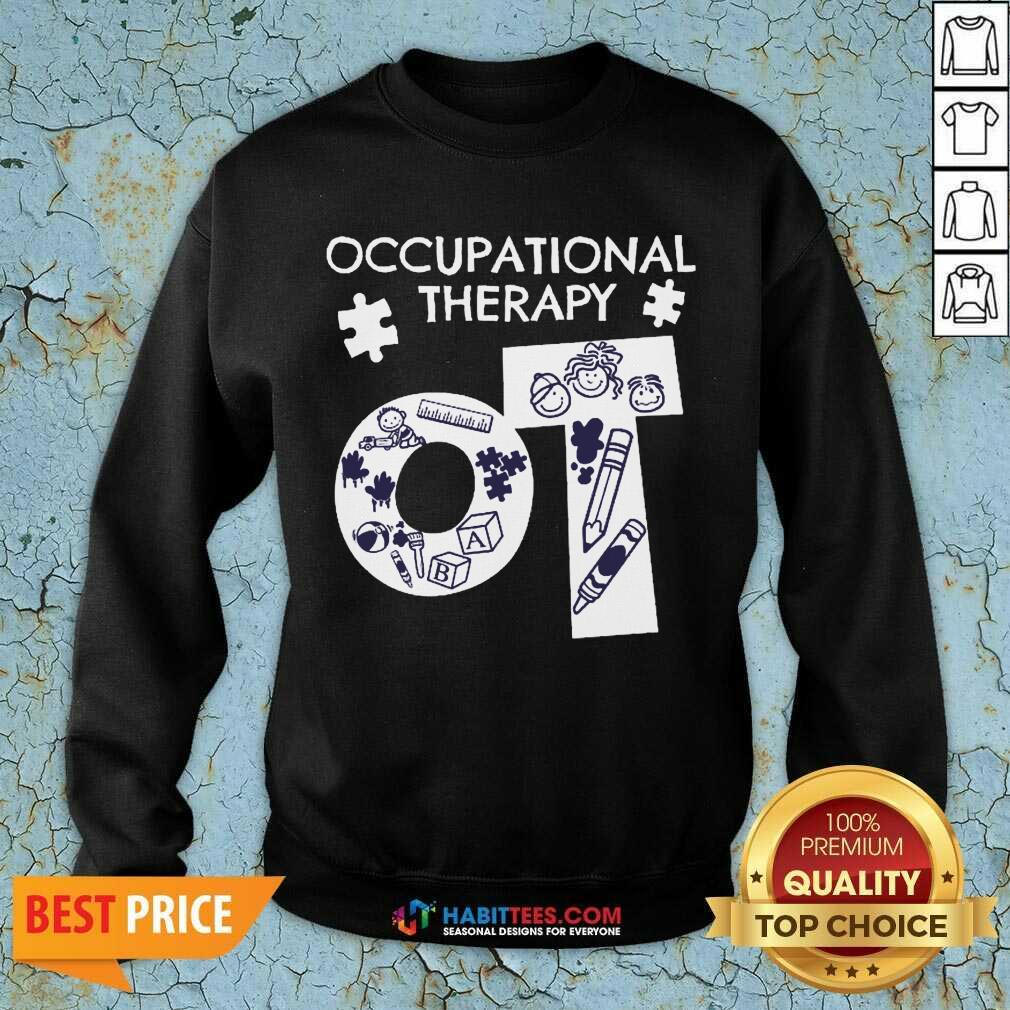 Awesome Occupational Therapy 3 Sweatshirt