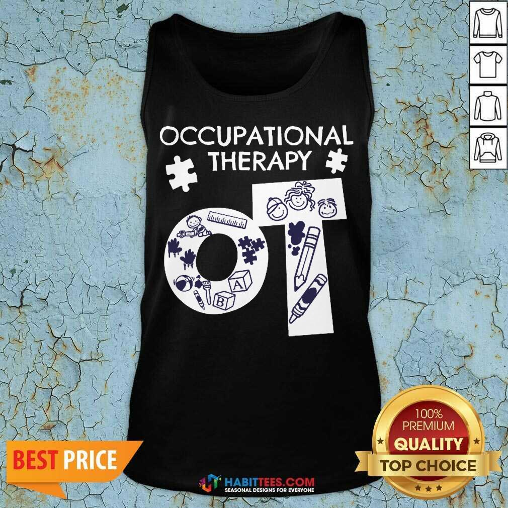 Awesome Occupational Therapy 3 Tank Top