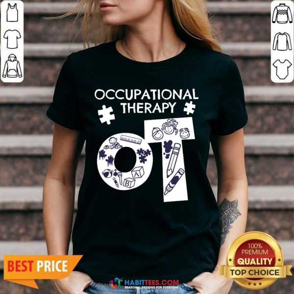Awesome Occupational Therapy 3 V-neck