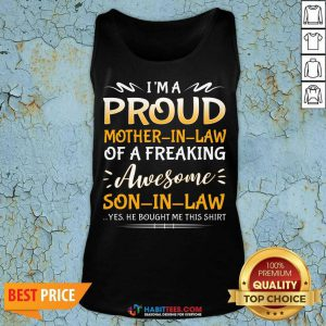 Awesome Proud Mother In Law Son 111 Tank Top