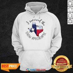 Funny I Survived The Snow Apocalypse Texas 01 Hoodie