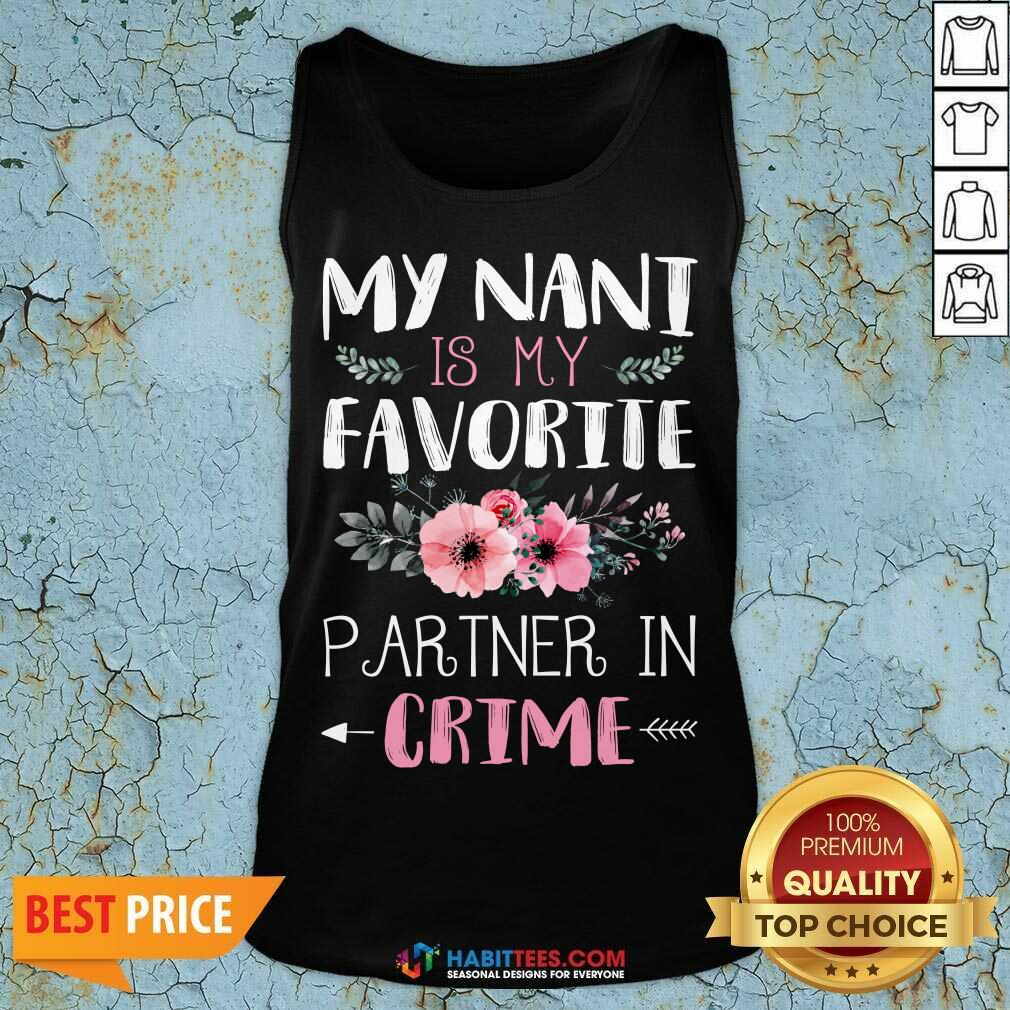 Funny My Nani Is Favorite Partner In 2 Tank Top