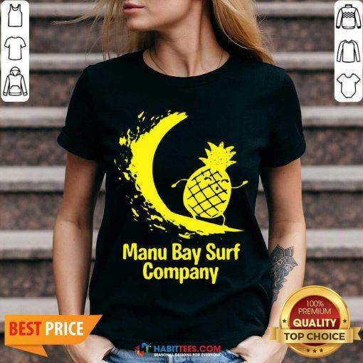 Good Manu Bay Surf Company 02 V-neck