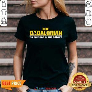 Good The Dadalorian Best Dad In The Galaxy 2 V-neck