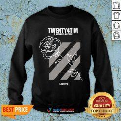 Happy Twenty4tim Wonderful Rose 4444 Sweatshirt