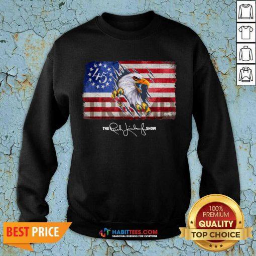 Hot The Rush Limbaugh Show 02 Sweatshirt