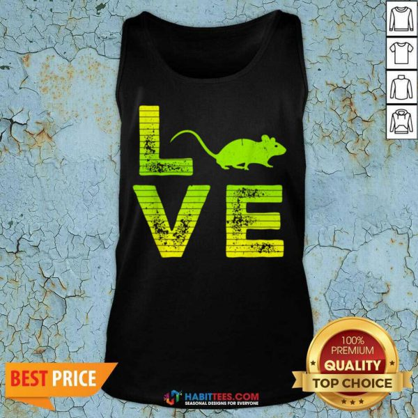 Nice I Love Mouse Boys Girls Great 6 Tank Top