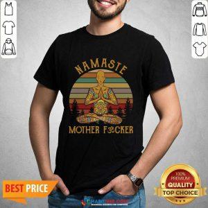 Nice Yoga Namaste Mother Fucker Shirt
