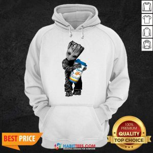 Official Baby Groot Hugs Dutch Bros 44 Hoodie