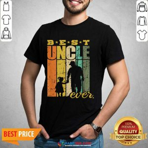 Official Best Ever Uncle And Niece 6 Shirt
