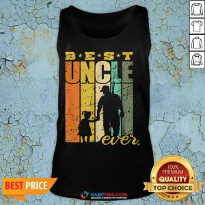 Official Best Ever Uncle And Niece 6 Tank Top
