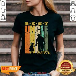 Official Best Ever Uncle And Niece 6 V-neck