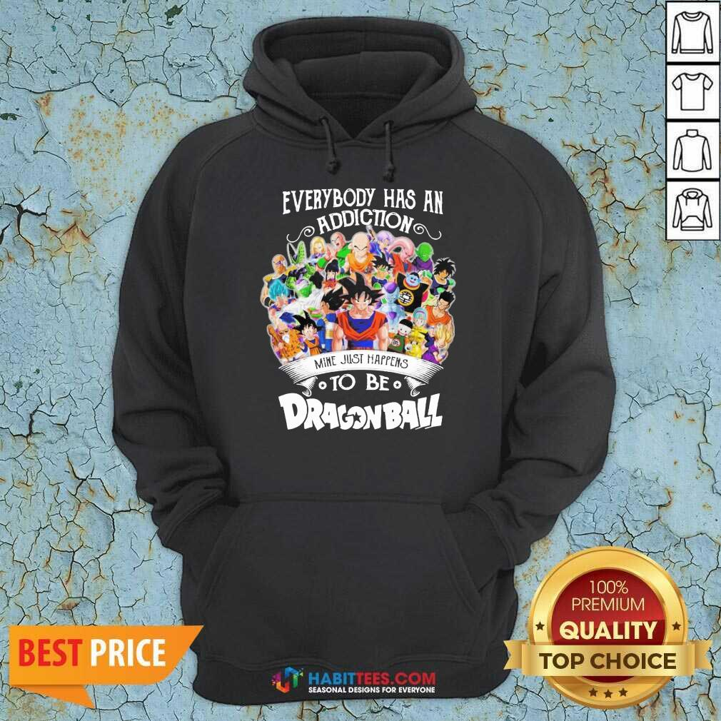 Official Everybody Has An Addiction Dragon Ball 3 Hoodie