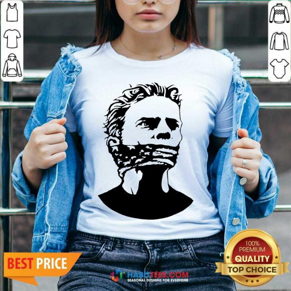 Official Freedom Of Speech And Expression 3 V-neck