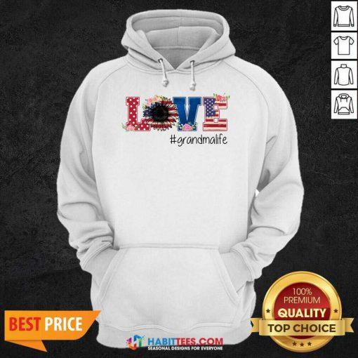 Official Love Grandma Life Great 07 Hoodie