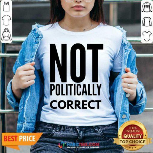 Official Not Politically Correct 44 V-neck