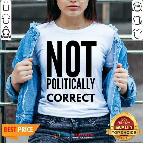 Official Not Politically Correct 44 V-neck