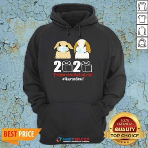 Perfect Bunny 2020 The Year When Shit Got Real Hoodie