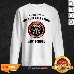Premium University Of American Samoa Law School 2 Sweatshirt