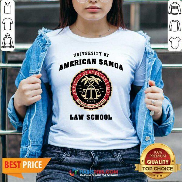 Premium University Of American Samoa Law School 2 V-neck