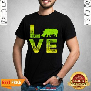 Pretty I Love Rhinos Wild Boys Girls 8 Shirt