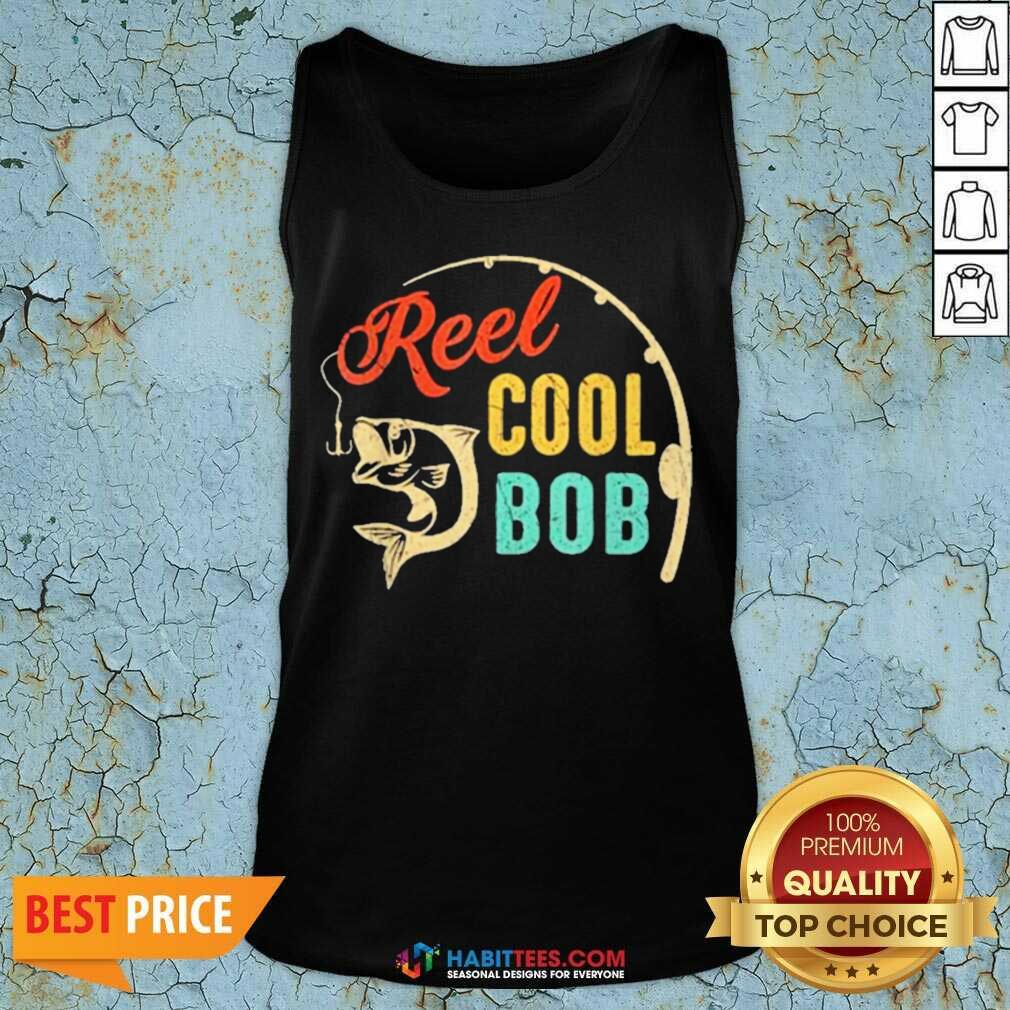 Top Fathers Day Fishing Reel Cool 10 Tank Top