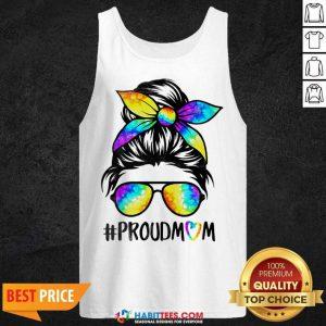 Top Hippie Dye Mom Proudmom Great 5 Tank Top