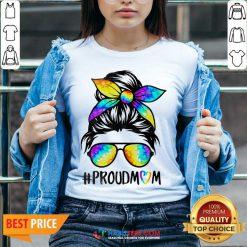 Top Hippie Dye Mom Proudmom Great 5 V-neck