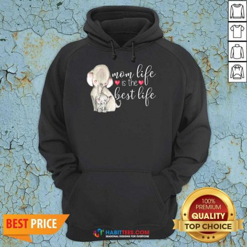 Top Mom Great Life Is The Best Life 10 Hoodie