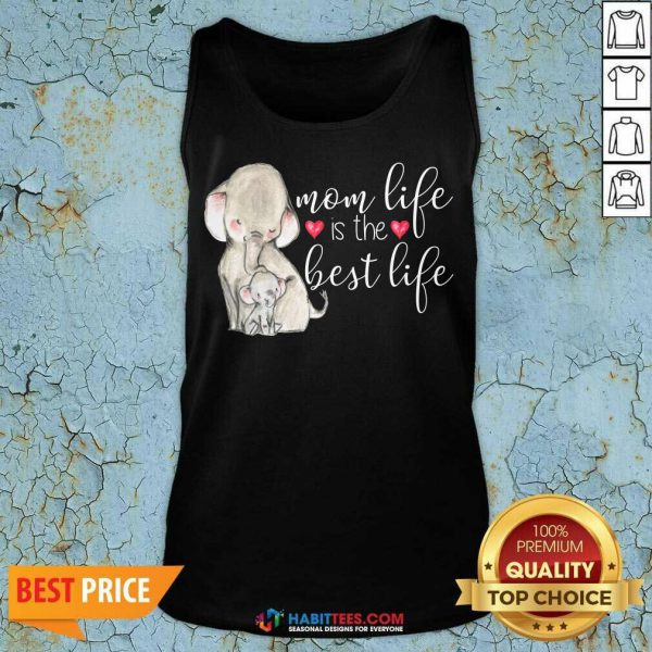 Top Mom Great Life Is The Best Life 10 Tank Top